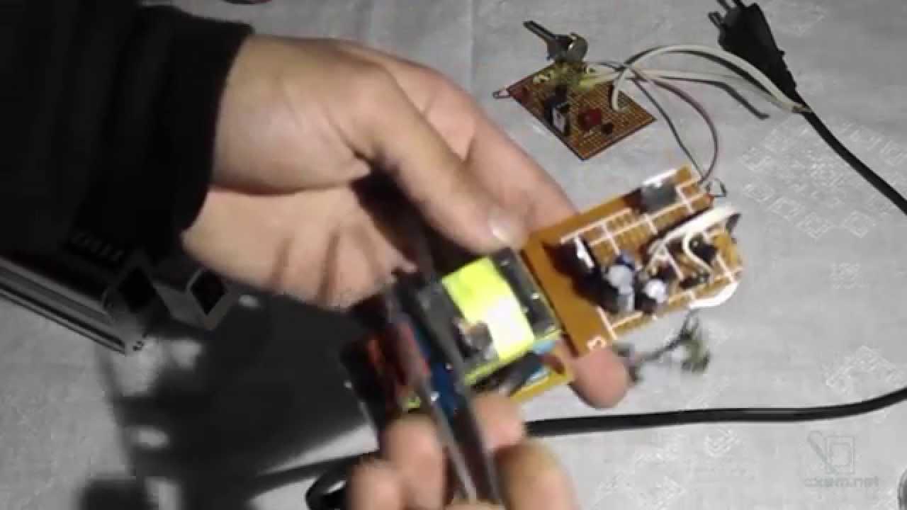 схема зарядка инвертор для автомобильного акумул