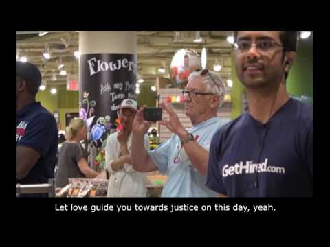 "DxE Toronto at Whole Foods Singing ""Liberation"""