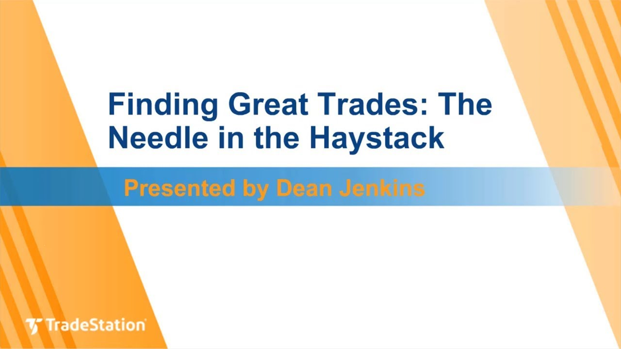 Finding Great Trades: The Needle in the Haystack