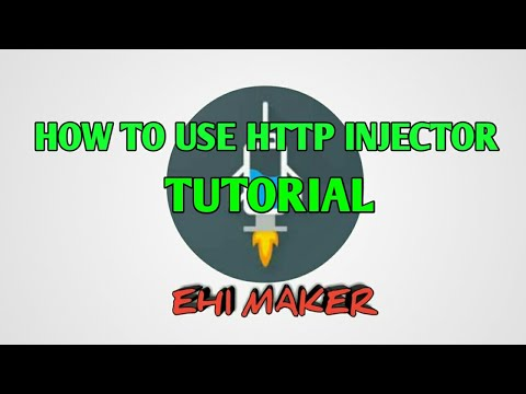 HOW TO USE HTTP INJECTOR TUTORIAL