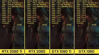 RTX 2080 Ti & 2080 vs 1080 Ti & 1080 4K Benchmarks