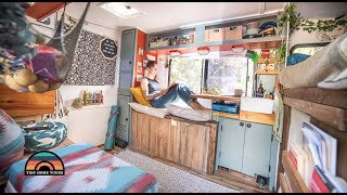 Architect Left NYC To Live Full Time In Her Custom Tiny House On Wheels