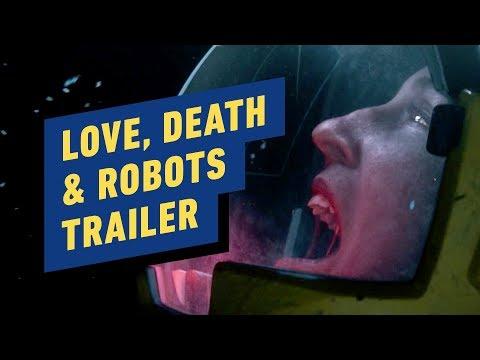 Netflix's Love, Death & Robots Trailer (David Fincher, Tim Miller)