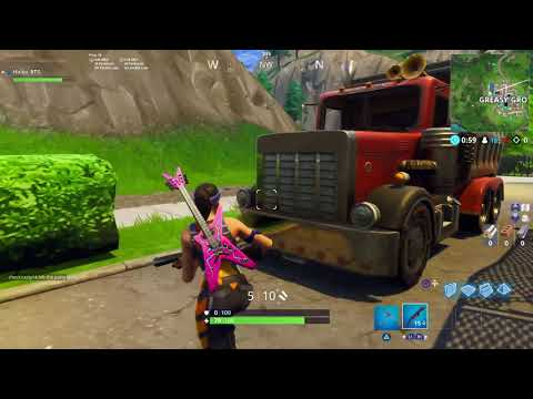 SPRAY OVER 7 POSTERS - ALL LOCATIONS FORTNITE (Easiest Way) - Week 6 Challenge