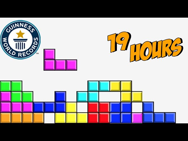 Playing Tetris FOR 1 YEAR! But EVERY LIKE Makes It FASTER (World Record)
