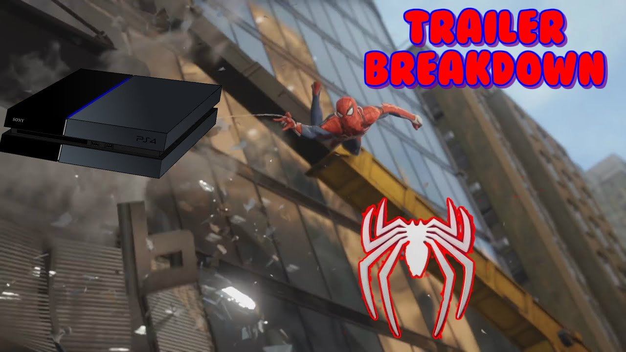 No New Spider-Man PS4 Footage at Game Awards or PSX - GameSpot
