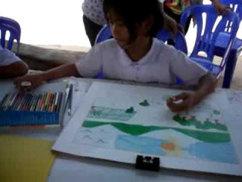 การแข่งขันวาดภาพระบายสี เมื่อวันที่ 4 พ ย 2554 จัดโดย ศูนย์เครือข่ายที่ 3 สพป ยส 1