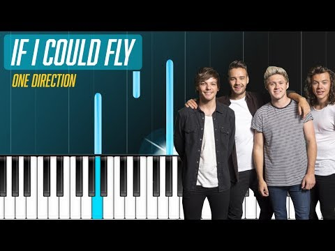 One Direction  If I Could Fly Piano Tutorial  Chords  How To Play