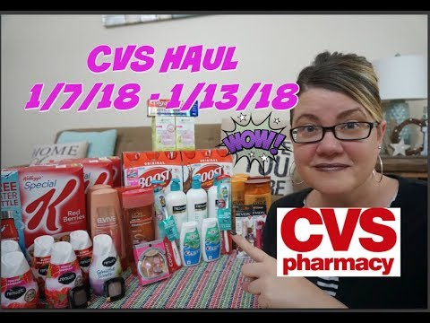 CVS COUPON HAUL 1/7/18-1/13-18 | AWESOME MONEYMAKERS & FREEBIES!!