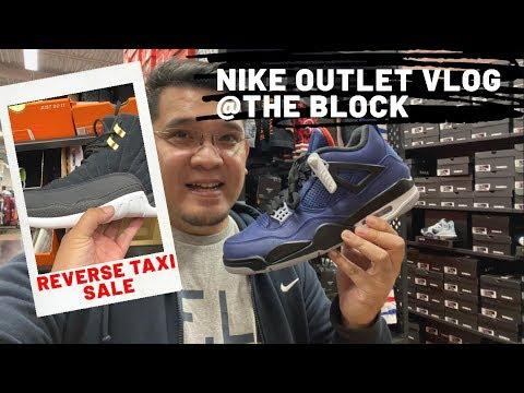 Nike Outlet Vlog The Block @Orange