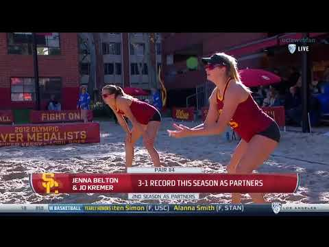 UCLA at USC - NCAA Women's Beach Volleyball (Feb 28th 2018)