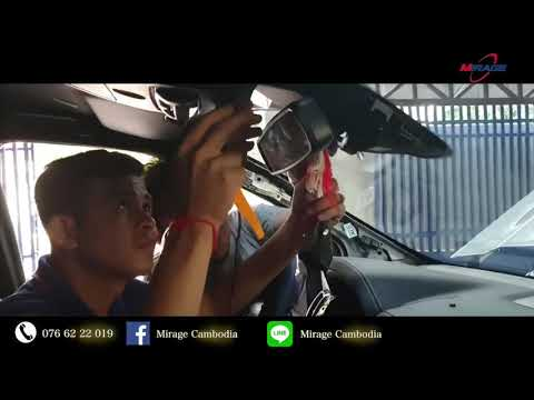 Ford Ranger Wild Track 2019 Install Smart DVR JC100 By Mirage Cambodia