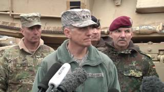 3/4 ABCT Deployment Port Operations Press Briefing