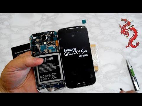 SAMSUNG GALAXY S4. Распаковка и запуск экранного модуля с Aliexpress.