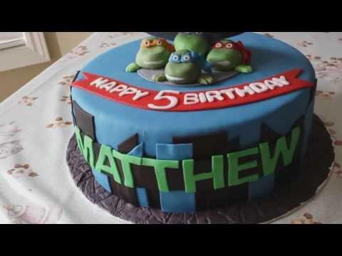 TMNT - Teenage Mutant Ninja Turltes Cake