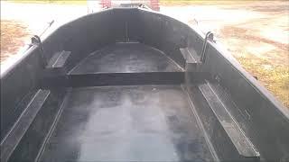 Обзор новой полиэтиленовой (ПНД)  лодки
