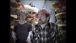 Burger King burger stacks commercial 2006