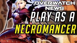 Overwatch - PLAY AS A NECROMANCER! [Custom Games]