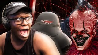 REACTING TO SCARY VIDEOS (LIVE)