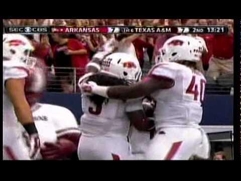 Alex Collins 50 yard TD vs. Texas A&M (2014)