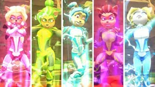 Crash Team Racing Nitro-Fueled - All New Legendary Skins Victory Animations