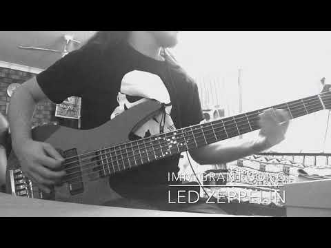 Immigrant Song - Led Zeppelin [bass cover]
