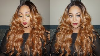 SENSATIONNEL LACE FRONT SUPER MODEL SERIES NATALIA WIG | REVIEW