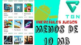 TOP 5 Juegos Que No Deben Faltar En Tu Android ( Pesan Menos de 10 MB) - el New tutoriales