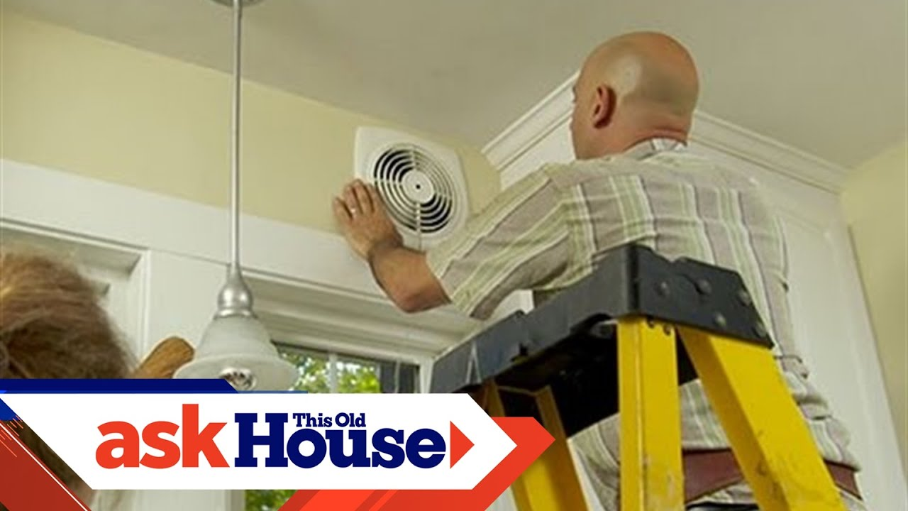 Kitchen Ceiling Exhaust Fan Replacement 2022