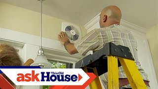 how to install a through the wall exhaust fan ask this old house