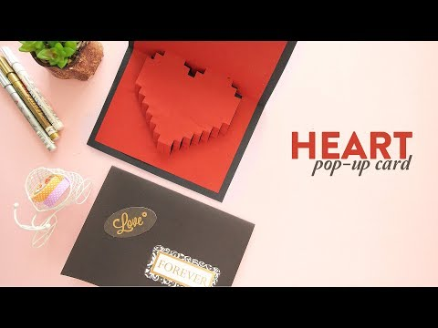 Heart Pop-up Card |  Valentines Day Card |  Card Making Mp3