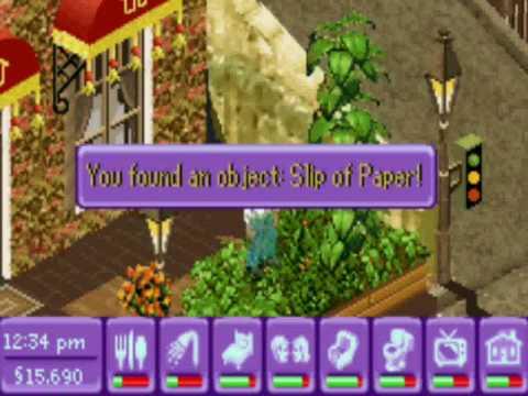 The Sims Urbz - Part 15 Following the Bulletin Board