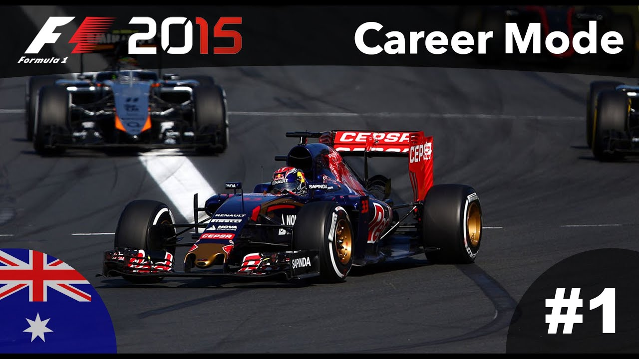 F1 2015 Gameplay Career Mode - Part 1 Australia