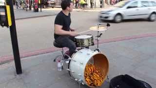 Crazy Drummer in Camden Town