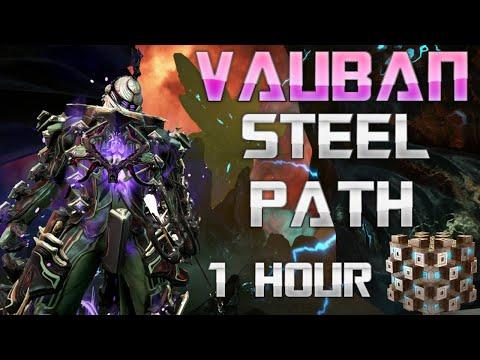 WARFRAME - Vauban Steel Path - Solo - 1 Hour - Steel Essence - Warframe Gameplay - Warframe Vauban