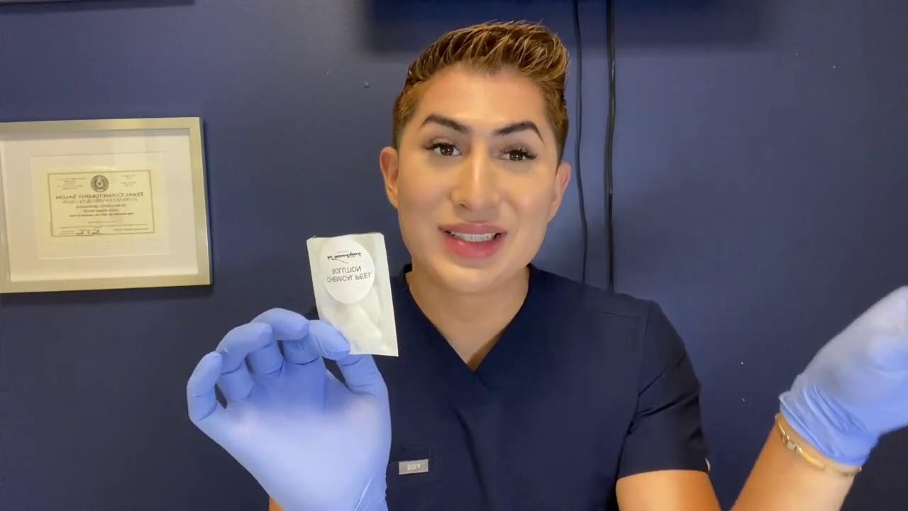 Virtual Chemical Peel Instruction Video