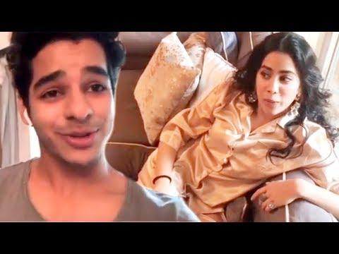 Jhanvi kapoor and Ishaan khattar Cute Instagram Video Mp3