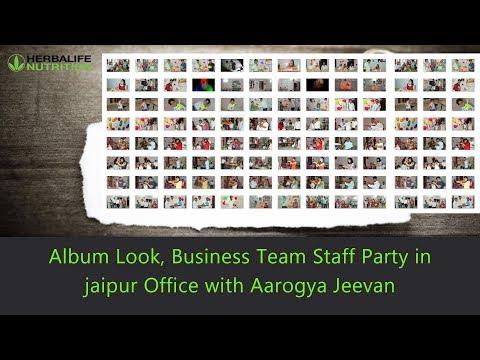 Album Look, Business Team Staff Party in jaipur Office with Aarogya Jeevan