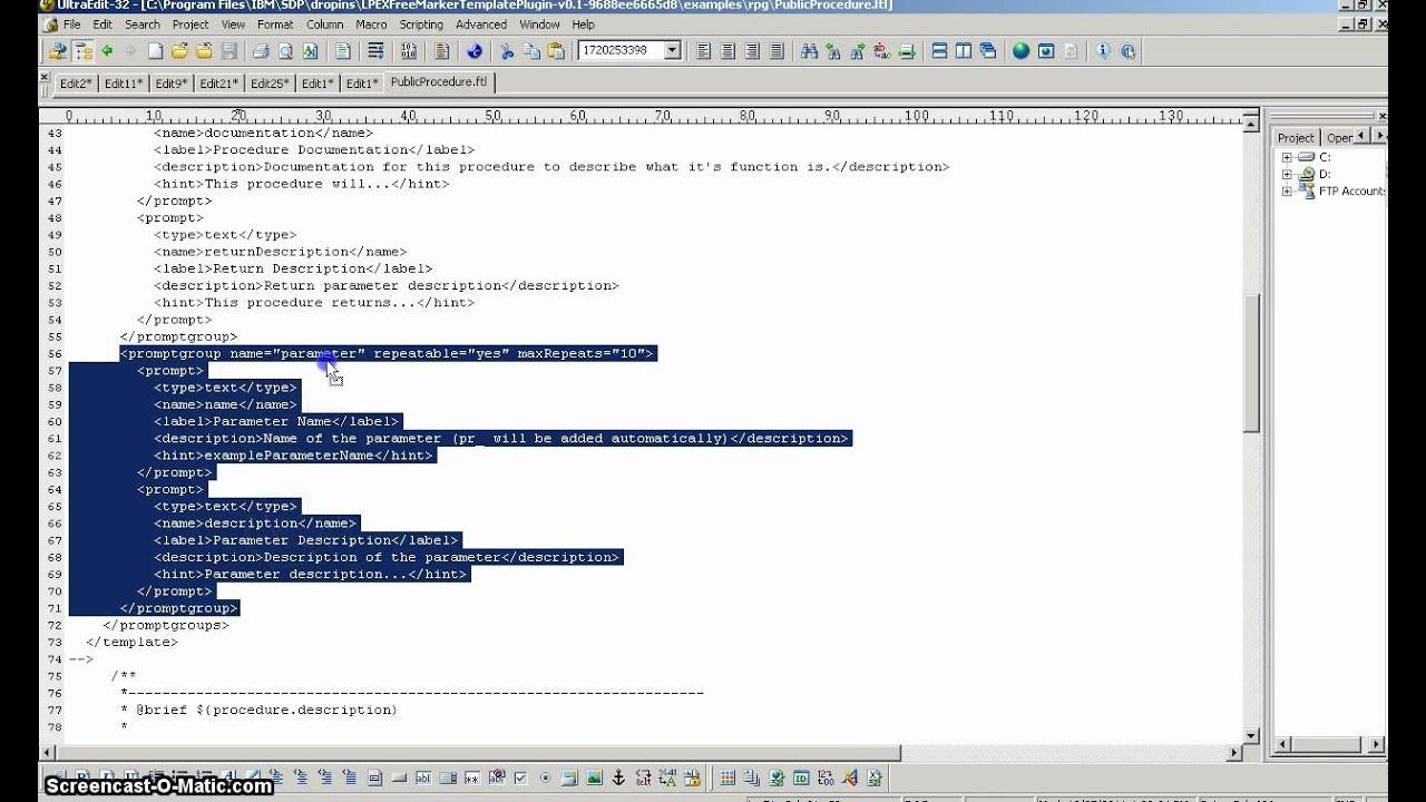 LPEX FreeMarker Template Plugin - v0.1.mp4 - YouTube
