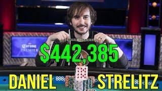 Daniel Strelitz wins $442,385 in the $5,000 NL WSOP Event