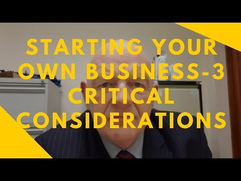 Starting Your Own Business in Ireland-3 Vital Considerations