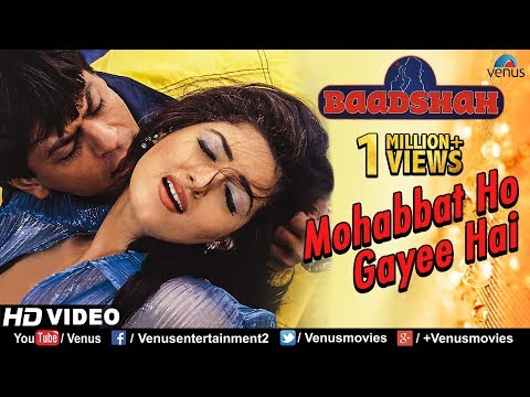 Mohabbat Ho Gayee Hai -HD VIDEO | Shahrukh Khan & Twinkle Khanna |Baadshah |90's Romantic Love Song