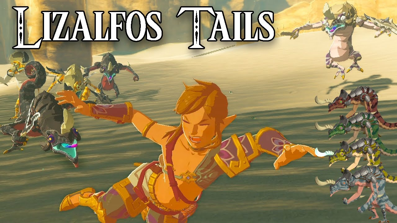 BotW Lizalfos Tail Farming | Yellow, Red & Icy Lizalfos Tails