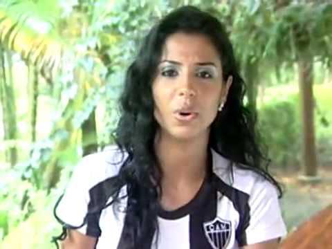 Entrevista De Renata Leal, Musa Do Atlético-MG No Brasileirão 2009