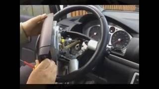 как снять рулевое колесо Ford Galaxy 2000 - 2005 VOLANTY.CZ
