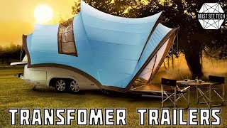 10 Expandable Trailers and New Camping Innovations YOU MUST SEE