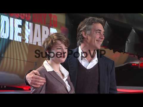 Gaia Wise, Greg Wise at 'A Good Day To Die Hard'  UK Prem...