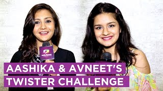Aashika Bhatia And Avneet Kaur Take Up The Twister Challenge | India Forums thumbnail