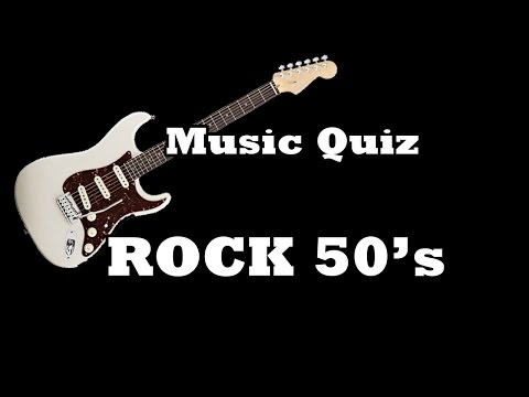 Music Quiz  Rock 50s