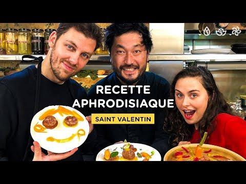 RECETTES APHRODISIAQUES DE SAINT VALENTIN (ft Swann Périssé & Pierre Croce) - SIGNATURE #3
